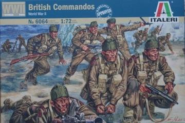 Italeri 6064 British Commandos (WWII) 1:72 доставка товаров из Польши и Allegro на русском