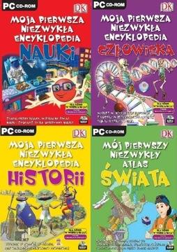 Энциклопедия Науки, Человека, Истории PC 4CD доставка товаров из Польши и Allegro на русском