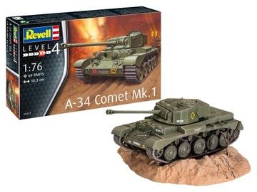 MODEL DO SKLEJANIA POJAZD A-34 COMET MK.1 доставка товаров из Польши и Allegro на русском