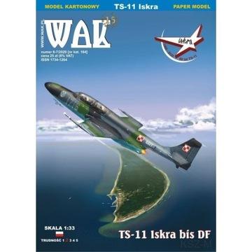 WAK 6-7/20 - Samolot TS-11 Iskra bis DF 1:33 доставка товаров из Польши и Allegro на русском