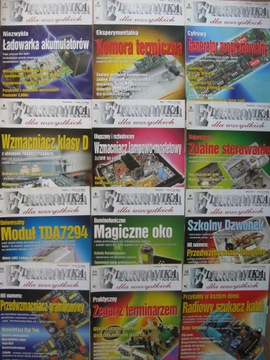 ЭЛЕКТРОНИКА для всех 12 номеров Год выпуска 2003 доставка товаров из Польши и Allegro на русском