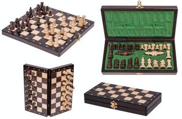 SQUARE - Шахматы деревянные МАГНИТНЫЕ - Классический доставка товаров из Польши и Allegro на русском