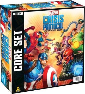 Marvel: Crisis Protocol starter gra figurkowa доставка товаров из Польши и Allegro на русском