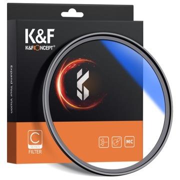 Фильтр UV 58 мм HD MC серия C SLIM покрытия K & F доставка товаров из Польши и Allegro на русском