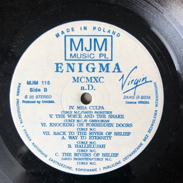 ENIGMA MCMXC aD доставка товаров из Польши и Allegro на русском