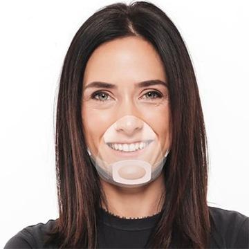 Maska MINI przyłbica półprzyłbica nos usta SHIELD доставка товаров из Польши и Allegro на русском