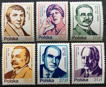 Fi 2708-2713 ** 1983 Выдающиеся Поляки доставка товаров из Польши и Allegro на русском