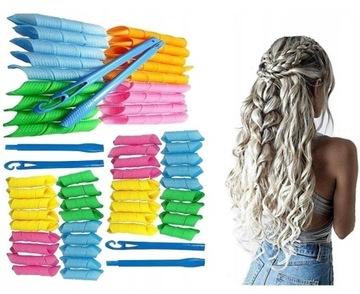 60 el НАБОР MAGIC LEVERAG БОРЬБЫ волосы БИГУДИ !! доставка товаров из Польши и Allegro на русском