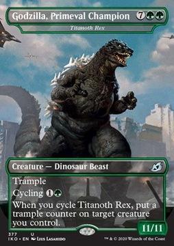 Godzilla, Primeval Champion MTG доставка товаров из Польши и Allegro на русском