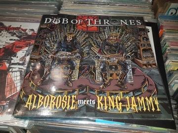 Alborosie Meets King Jammy Dub Of Thrones LP НОВЫЙ доставка товаров из Польши и Allegro на русском