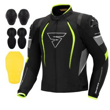 SHIMA SOLID PRO FLUO Куртка специальная одежда для мотоциклистов + ХАЛЯВА доставка товаров из Польши и Allegro на русском