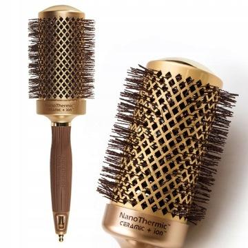 Olivia Garden Nano Thermic szczotka do włosów 54mm