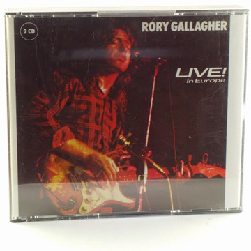 Rory Gallagher - Live! In Europe / Stage Struck доставка товаров из Польши и Allegro на русском
