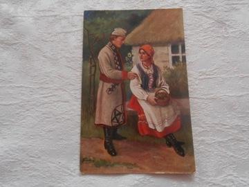 Pocztówka - WASILEWSKI - 1915 доставка товаров из Польши и Allegro на русском