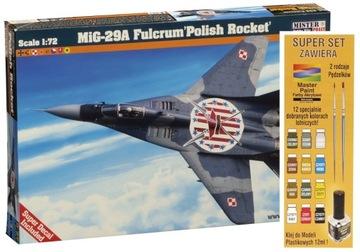 MODEL DO SKLEJANIA MIG-29A FULCRUM POLISH ROCKET доставка товаров из Польши и Allegro на русском