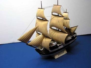 Модель парусника Homme Richard 1:500 Клей + Бесплатная доставка товаров из Польши и Allegro на русском