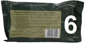Индивидуальные правы питания S-R-SR-6 MRE SRG доставка товаров из Польши и Allegro на русском