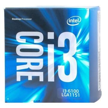 Intel Core i3 6100 до 3,7 Ггц Магазин GW 12msc FV23% доставка товаров из Польши и Allegro на русском