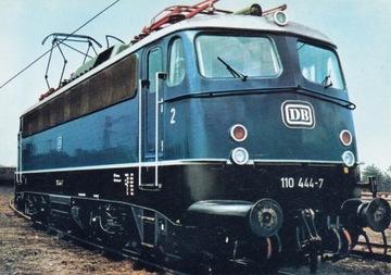 LOKOMOTYWA - 110 444-7 - NIEMCY доставка товаров из Польши и Allegro на русском