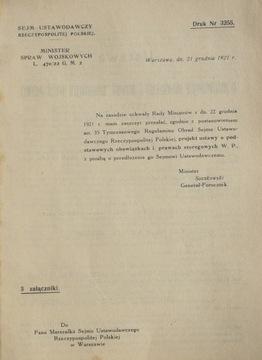 1921 ОБ ОБЯЗАННОСТЯХ И ПРАВАХ РЯДОВЫХ В. П. доставка товаров из Польши и Allegro на русском