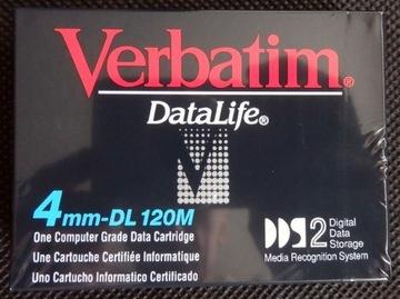 Taśma streamera VERBATIM DataLife DDS-2 4GB доставка товаров из Польши и Allegro на русском
