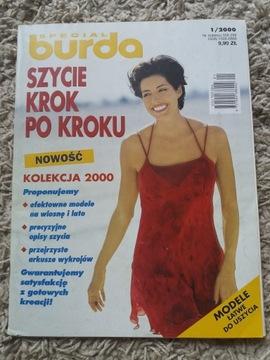 BURDA Szycie krok po kroku 1 / 2000 r доставка товаров из Польши и Allegro на русском