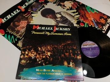 Michael Jackson Farewell My Summer --LP US+ PLAKAT доставка товаров из Польши и Allegro на русском