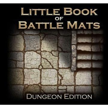 The Little Book of Battle Mats Dungeon Edition ENG доставка товаров из Польши и Allegro на русском