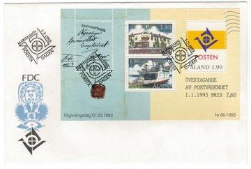 FDC аландские Острова Аланд 1993 корабль почта письмо доставка товаров из Польши и Allegro на русском
