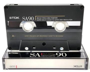 TDK 90 кассета 1990-91 доставка товаров из Польши и Allegro на русском