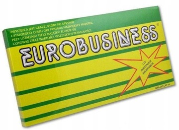 ИГРА EUROBIZNES МОНОПОЛИЯ EUROBUSINESS хит !!! доставка товаров из Польши и Allegro на русском