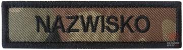 Полоса Name Патч-Имя, Форма wz 93 армия доставка товаров из Польши и Allegro на русском