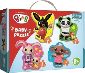 Moje Pierwsze Puzzle Bing Trefl Baby 2+ Maluszka доставка товаров из Польши и Allegro на русском