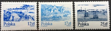 Fi 2685-2687 ** 1982 Старые города над Вислой доставка товаров из Польши и Allegro на русском