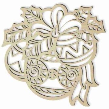 деревянный декор witrażyk БЕЗДЕЛУШКИ головной убор 20 см доставка товаров из Польши и Allegro на русском