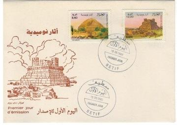 FDC Марки Алжир 1993 археология гробницы Num доставка товаров из Польши и Allegro на русском