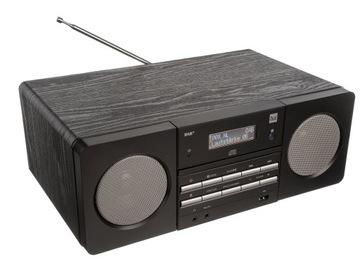 ЦИФРОВОЕ РАДИО DAB+ FM PLL CD MP3 USB AUX IN ДРЕВЕСИНА доставка товаров из Польши и Allegro на русском