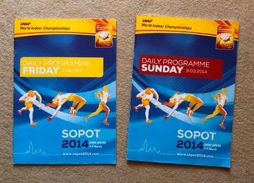2 Программы в закрытых помещениях, Чемпионат мира по легкой атлетике Сопот 2004  доставка товаров из Польши и Allegro на русском