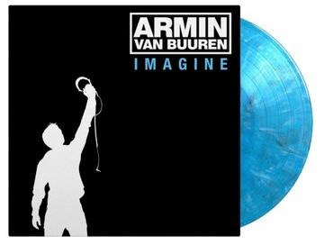 ARMIN VAN BUUREN Imagine 2LP BLUE MARBLED VINYL доставка товаров из Польши и Allegro на русском