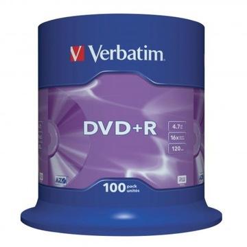 ДИСК VERBATIM DVD+R LO, 4,7 GB СКОРОСТЬ 16X, CAKE доставка товаров из Польши и Allegro на русском