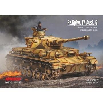 Танк Pz.Kpfw. IV Ausf. Г - Angraf 189 1:25 доставка товаров из Польши и Allegro на русском