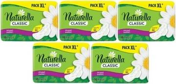 Podpaski higieniczne Naturella Maxi 16 sztuk x 5