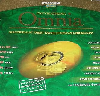 Мультимедийная энциклопедия Omnia PC BIG BOX доставка товаров из Польши и Allegro на русском