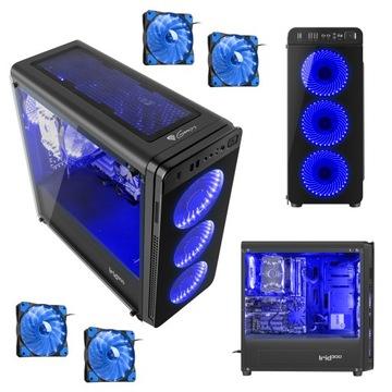 Корпус Genesis Irid 300 ATX 4xWentylator LED окно доставка товаров из Польши и Allegro на русском
