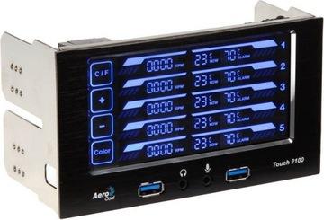 Panel dotykowy Aerocool Touch-2100 доставка товаров из Польши и Allegro на русском