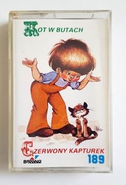 BAJKI PANA PERRAULT KOT W BUTACH, CZERWONY..MC доставка товаров из Польши и Allegro на русском