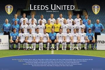 Leeds United Team 12/13 Плакат 91,5x61 см SALE доставка товаров из Польши и Allegro на русском