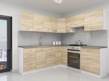 Набор кухонной мебели Атланта Сонома Угловой доставка товаров из Польши и Allegro на русском