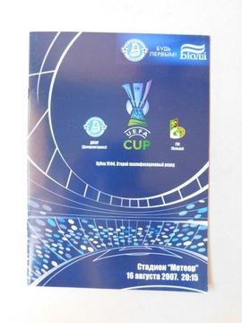 PROGRAM DNIEPR GKS BEŁCHATÓW 2007.08.16 UEFA доставка товаров из Польши и Allegro на русском