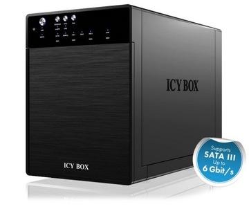 ICY BOX ICYBOX IB-3640SU3 IcyBox Obudowa na Dysk доставка товаров из Польши и Allegro на русском